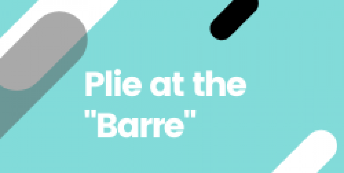 Plie at the _Barre_